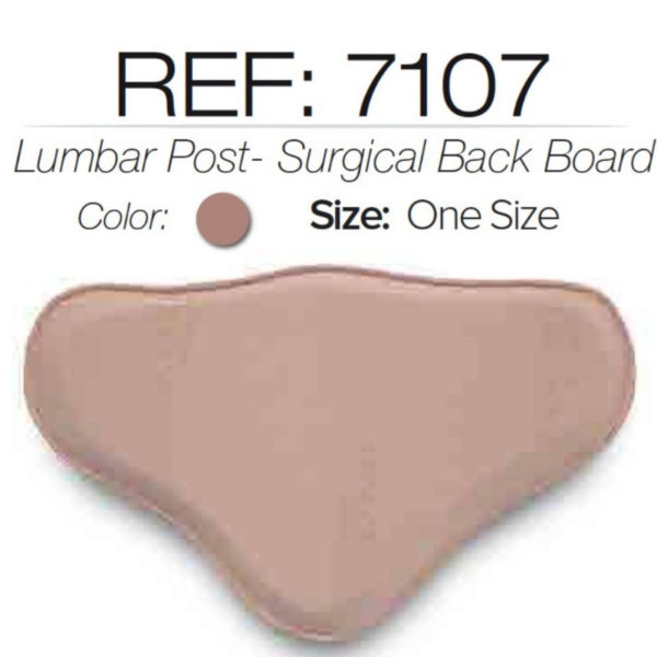 #7107 Lipo Lumbar Molder BBL Post Surgery Back Board