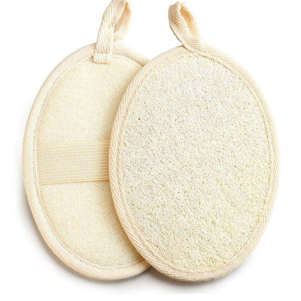 Body & Face Exfoliating Loofah Sponge Bathing Pads| Large